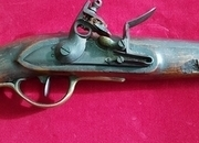 A scarce Napoleonic  Dutch Military Officer\'s Flintlock Pistol dated 1815. Ref 1144   Muzzleloader