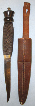 Chas Clements British Officer's Private Purchase Bowie Trench Fighting Knife By   Blades