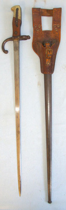 French Model 1874 Gras Sword Bayonet By Manufactures D'Armes De St. Étienne With  Blades