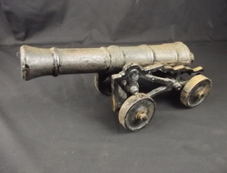 19th Century Iron Cannon Cannon
