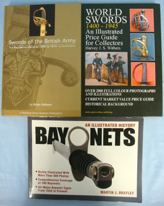 Three Books On Swords And Bayonets. Three Books On Swords And Bayonets. Accessories