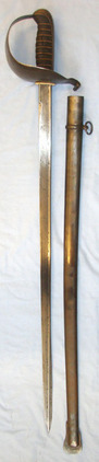 Brazilian Republic Heavy Cavalry Troopers Sword With Pipeback Blade By Weyersber  Blades