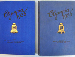 'Die Olympischen Spiele 1936' 2 Volume Set Of Books Covering The ...