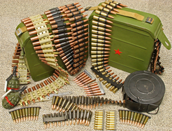 Inert ammo for Machine Guns
