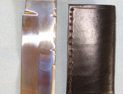 Ron & Roy Middleton Sheffield (Sons Of J.E. Middleton) Large Hand Made Bowie Kni  Knives