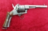 A very good continental Pin-fire 11mm 6 shot revolver with an unusual ring trigger and a five inch barrel. Ref 9796.   Revolver for sale in United Kingdom