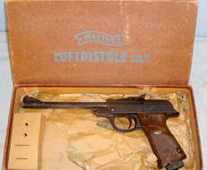 Walther LP 53 Break Action .177 Calibre Air Pistol. .177  Air Pistols