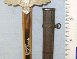 'SMF' which is Stocker & Co SCARCE, Miniature Manufacturer's Sample WW2 Era Nazi  Other Blades