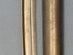 French Model 1842 Yataghan Sword Bayonet With Brass Grip For the Model 1840 Perc Model 1842 Yataghan Sword Bayonet With Brass Grip For the Model 1840 Percussion  Bayonets