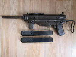 Grease Gun M3A1. 45 Submachine Guns