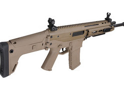 WE MSK Tan GBB Rifle   6MM BB Airsoft Guns