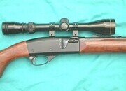 Remington 552 Speedmaster (Scoped) Semi-Auto .22  Rifles