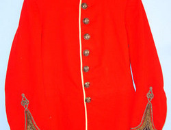 Royal Warwickshire Regiment Volunteer Battalion 2nd Lieutenant's Red Dress Tunic Pre WW1 1902-1910 Royal Warwickshire Regiment Volunteer Battalion 2nd Lieutenant