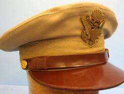 USAAF Officer's Tropical Peaked Cap, Size 7 1/4