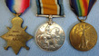 Medal Trio Consisting of 1914-15 Star, War and Victory Medals with Ribbons all t WW1 British Army Royal Field Artillery Medal Trio Consisting of 1914-15 Star, Wa for sale in United Kingdom