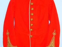 Samuel Gardner & Co, 1 Clifford Street, Saville Row W1 Royal Warwickshire Regiment 1st Lieutenant's Red Dress Tunic .