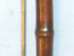 French/ German (Alsace) Bamboo Cane Sword Stick, Blade By 'Coulaux & Cie Klingen  Other blades