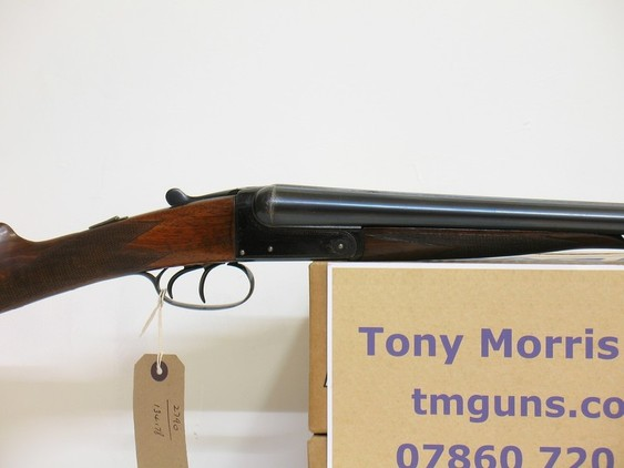 Thomas Turner and Sons Game boxlock non ejector Shotguns