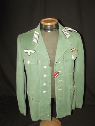 WW2 German Army Administration 2nd Lieutenants Tunic  Accessories