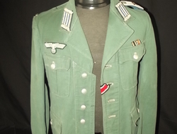 WW2 German Army Administration 2nd Lieutenants Tunic