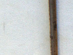 British Land Pattern Socket Bayonet For The Flintlock Brown Bess Musket.  Bayonets