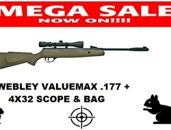 Webley / Webley & Scott valuemax  .177 Air Rifles