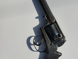 Adams Double action revolver. 45 Revolver