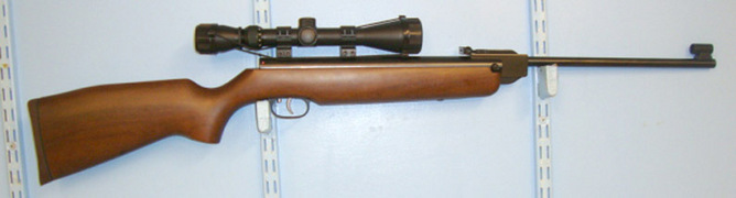 Weihrauch HW99S (Sport Trigger) .22 Calibre Break Action Carbine Size Air Rifle With Busne Air Guns