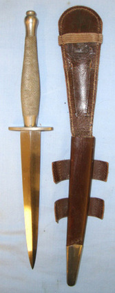 2nd Pattern Nickel Plated Officer's  Blades