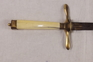 Circa 1810 British Naval Dirk With Blue And Gilt  Knives for sale