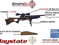 Daystate wolverine c type. 22 Air Rifles