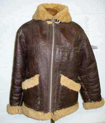 WW2 American B3 style leather Flying Jacket B3 style leather Flying Jacket Accessories