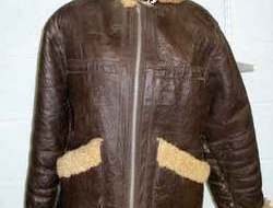WW2 American B3 style leather Flying Jacket B3 style leather Flying Jacket