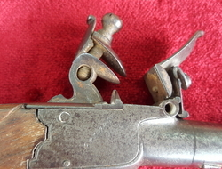 English flintlock boxlock pocket pistol by William Jover of Londo...