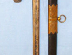 retailer 'By JR Gaunt & Son Ltd Late Edward Thurkle London & Birmingham'British   Swords