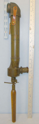 R&JB (Beck Ltd) No.14 TPL MK 4 Brass Trench Periscope By R&J Beck Ltd With Screw Off Wood Handle Accessories