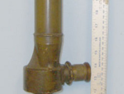 R&JB (Beck Ltd) No.14 TPL MK 4 Brass Trench Periscope By R&J Beck Ltd With Screw Off Wood Handle