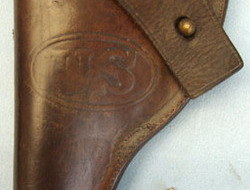 G & K 1917 A. G. U. S. Army M1897 Colt. 38 Revolver Holster By G ...