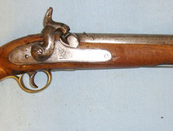 "'N7 Leigh' (indicating manufacture after the British Government took over the EI 1843 Pattern East India Company .650"" Carbine Calibre Smooth Bore Percussion Cav .650  Muzzleloader"