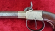 English Percussion pistol with nickel silver frame, by Van-Wart of London. Ref 9090 .45  Muzzleloader for sale