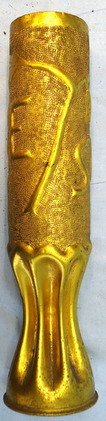 Trench Art Brass Shell Case Commeration SOMME 1918. Trench Art Brass Shell Case Commeration SOMME 1918. Accessories