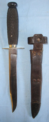 Rodgers & Sons Sheffield WW1 Era British Officer's Private Purchase Bowie Trench  Blades