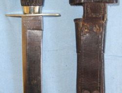 Rodgers & Sons Sheffield WW1 Era British Officer's Private Purchase Bowie Trench  Knives