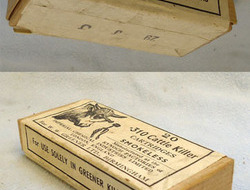 INERT DEACTIVATED. British Original Eley 20 Round Box Of Unfired....