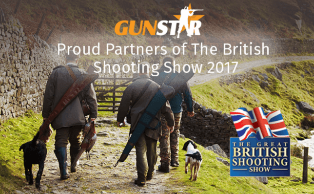Gunstar Official Media Partners For The British Shooting Show 2017