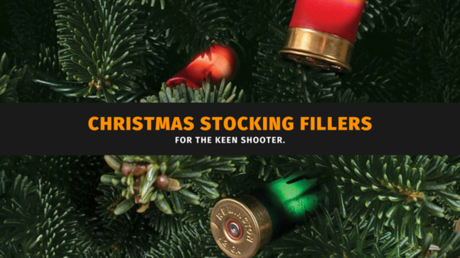 Christmas Stocking Fillers for the Keen Shooter.