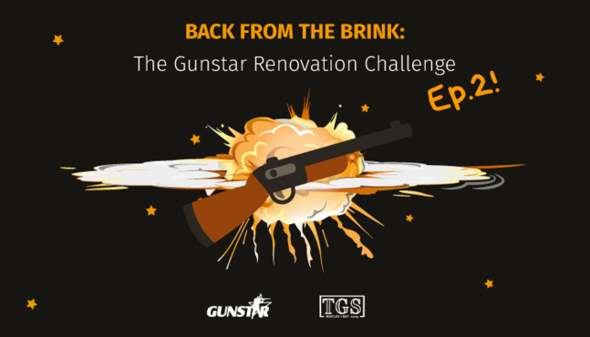 Watch: Back From the Brink Episode 2 - The Gunstar Renovation Challenge