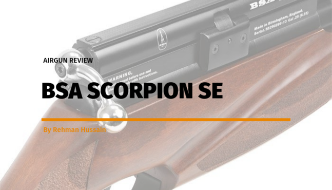 Airgun Review: BSA Scorpion SE