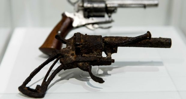 The 'suicide' revolver of Vincent Van Gogh has sold for an incredible price.