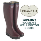 LE CHAMEAU Giverny Women's Wellington Boots